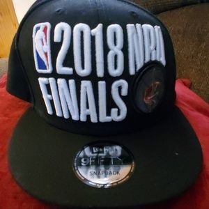 NWOT 2018 NBA FINALS CAP